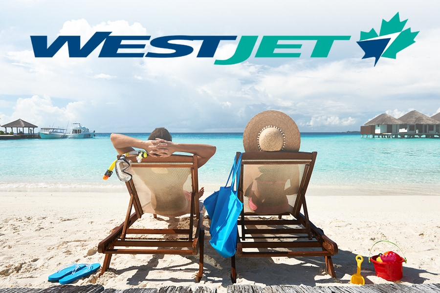 WestJet Guests, Save up to 25% off Base Rates